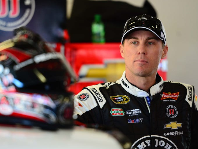Kevin Harvick, born Dec. 8, 1975 in Bakersfield, Calif., began his NASCAR Cup career in February of 2001 in the Dura Lube 400 at Rockingham Speedway.