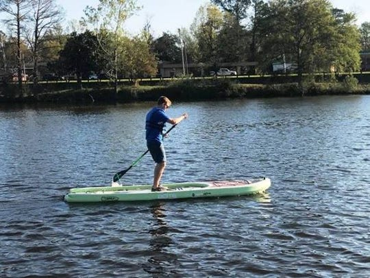 H2Go will demo a standup paddle board Saturday at Black