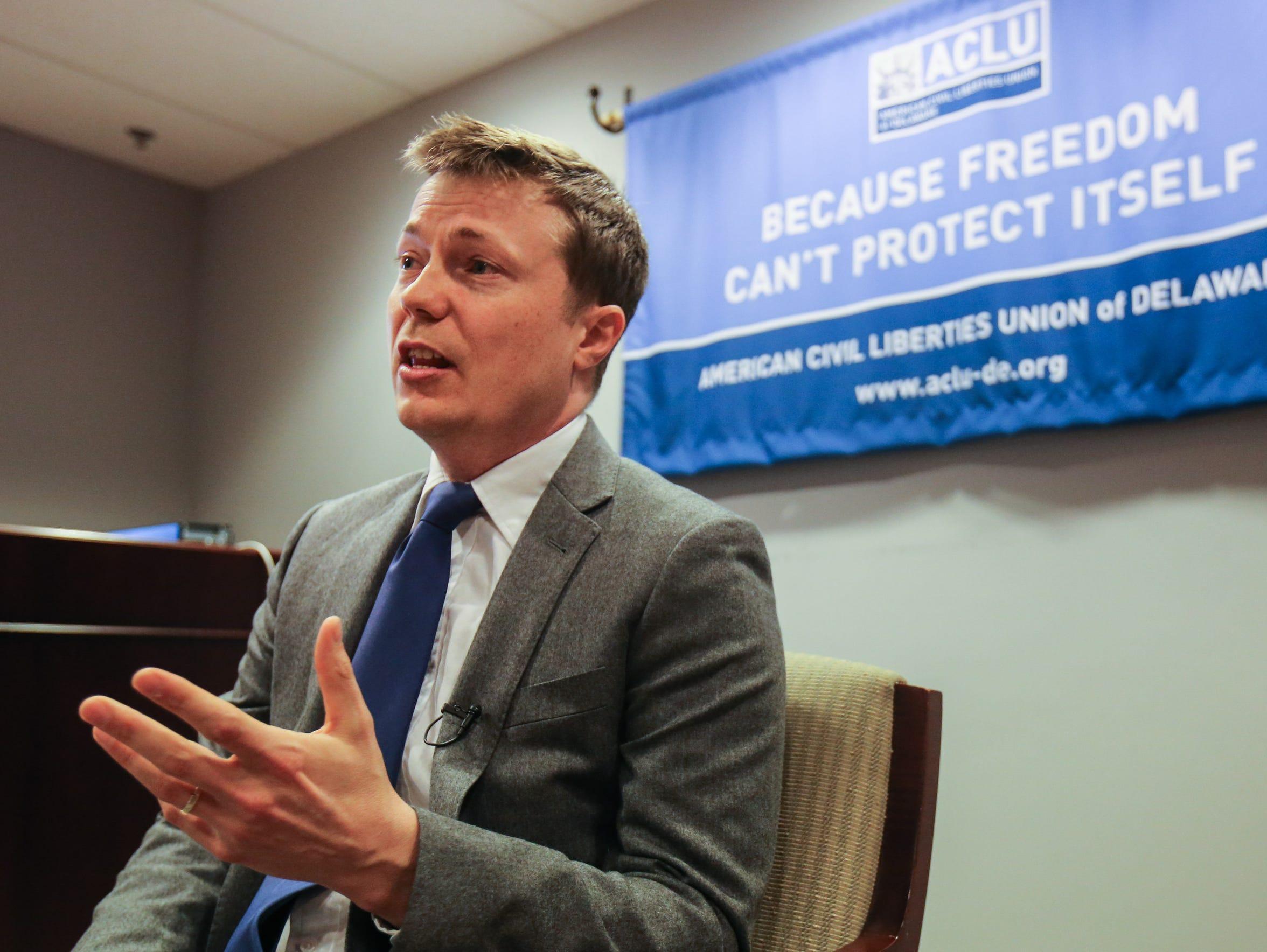 ACLU attorney Ryan Tack-Hooper