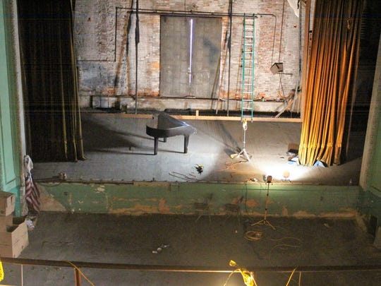 The theater has been vacant for more than forty years.