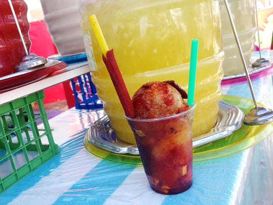 A Mexican crushed ice concoction with mango and tamarind, the Tamago is absurdly refreshing.