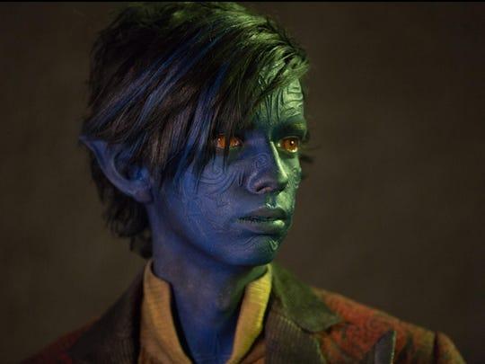"Kodi Smit-McPhee as Kurt Wagner / Nightcrawler in ""X-Men: Apocalyspe."""