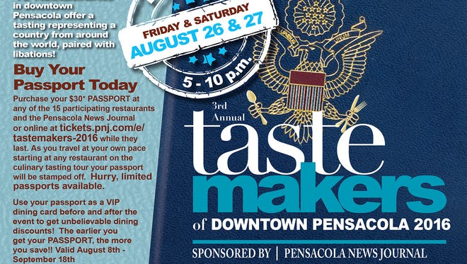 """Tastemakers is a restaurant take on the classic pub crawl, with several downtown restaurants offering dishes featuring a """"taste"""" of different countries' cuisines."""