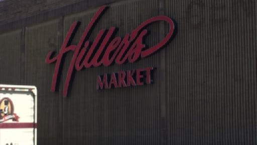 Hiller's Market on Orchard Lake Road in West Bloomfield.
