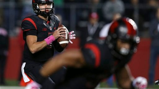Rutgers quarterback Chris Laviano will face Ohio State coming off the two best performances of his career.