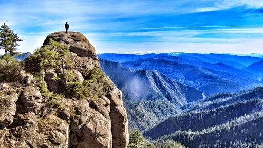 Hanging Rock, which looks across the Wild Rogue Wilderness, is part of the Wild Rogue Loop.