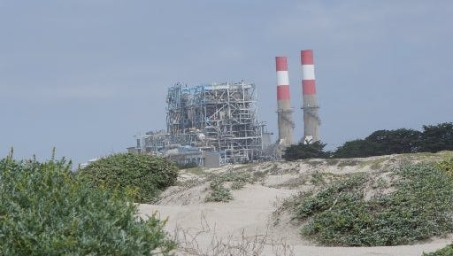 A power plant in California. The Clean Power Alliance of Southern California hopes to increase the use of renewable energy.