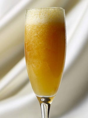 Bellini - a cocktail perfect for summer.