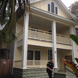 Police: Mom makes child jump from window at gunpoint