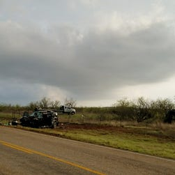 Storm chasers die in car crash as they pursue tornado in Texas