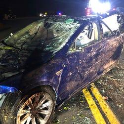 Tesla Model S crash into California pond killed driver, police say