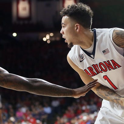 Arizona guard Gabe York leads the Wildcats in scoring, averaging 16 points through four games. MSU and Arizona could meet Sunday night in the finals of the Wooden Legacy tournament in California.