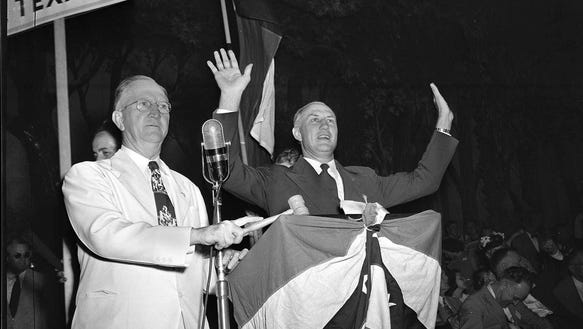 In this July 17, 1948, file photo, South Carolina Gov.