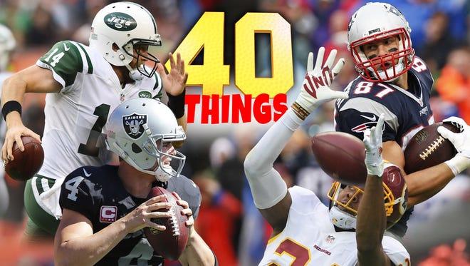 40 things we learned in NFL Week 8.