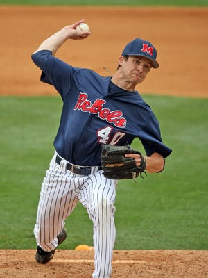 Scott Weathersby got the start for the Rebels on Sunday