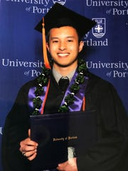 Julius Jose R. Raposa passed the Professional Engineers board exam on May 25 in the State of California. He is the son of Felisa Regalado of Yigo. Julius is a 2009 graduate of Simon Sanchez High School, and Class of 2014 from the University of Portland where he earned his Bachelor of Science degree in Electrical Engineering. He also passed the board for Professional Engineers, Land Surveyors and Geologist in 2014 from the State of Oregon.