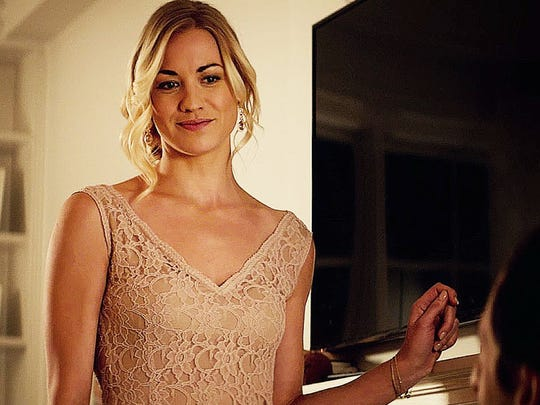 Yvonne Strahovsky is the femme fatale who during a