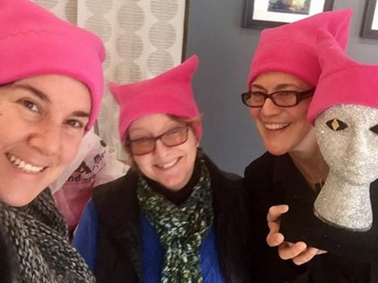 2f942253a85 A group of Lancaster women are selling handmade pink cat-ear hats as part  of the Pussyhat Project