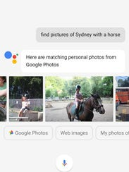A Google Assistant search found photos of Edward Baig's