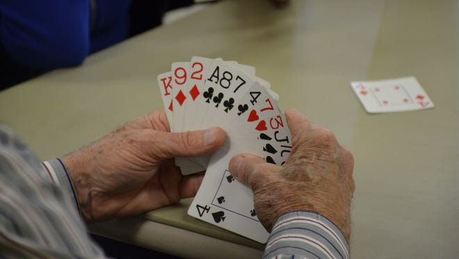 Sussex County has seen a increase in bridge players as more sports to play the card game have popped up.
