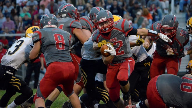 Piketon earned its first win over Paint Valley Friday night by a 34-13 final. The Redstreaks are believed to be a better team than their 1-3 record shows. They'll host undefeated Southeastern in Week 5.