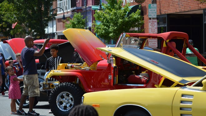 Millvillewill host its 28th annual downtown car show from 9 a.m. to 3 p.m. Aug. 11 in the city's Glasstown Arts District.