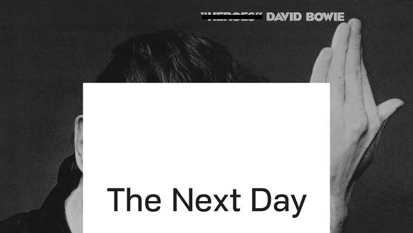 """The Next Day"" was a 2013 album by Davie Bowie."