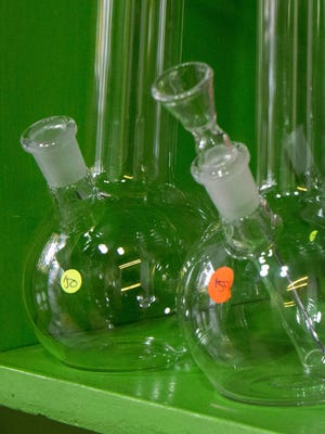 Bongs that are used to smoke cannabis