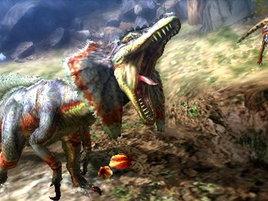 """Monster Hunter 4 Ultimate"" features a wide selection of monsters to fight."