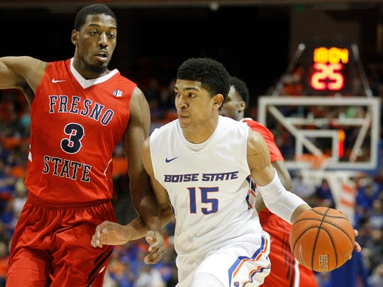 Chandler Hutchison averaged 20 points per game in his senior season at Boise State.