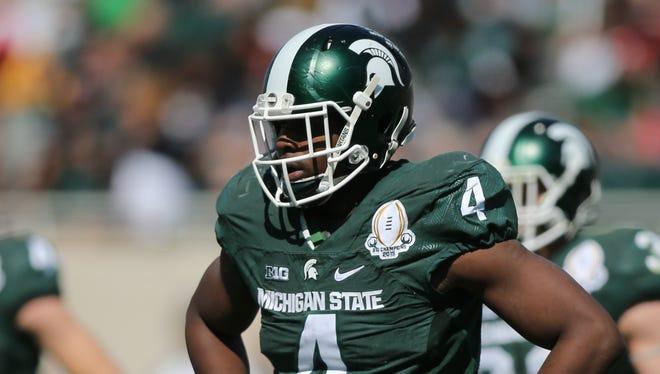 Michigan State defensive lineman Malik McDowell.