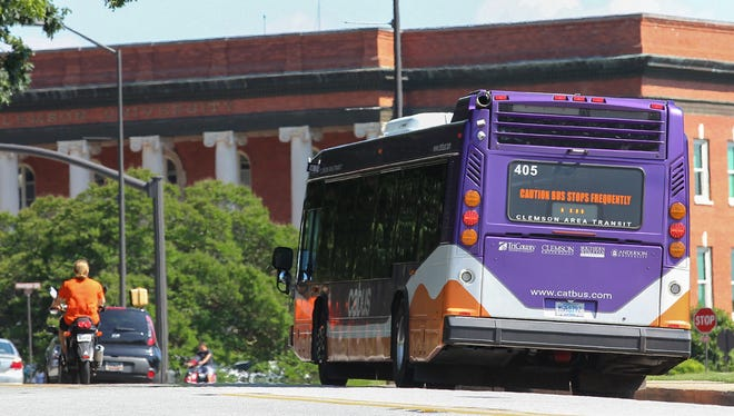 CAT service to Sikes Hall on the Clemson University campus and other stops will speed up to 15 minutes or less when school is in session, according to a plan announced by Clemson city officials Thursday.