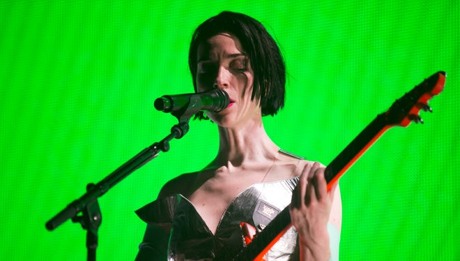 """St. Vincent performs Wednesday at the Egyptian Room in support of newly released album """"Masseduction."""""""
