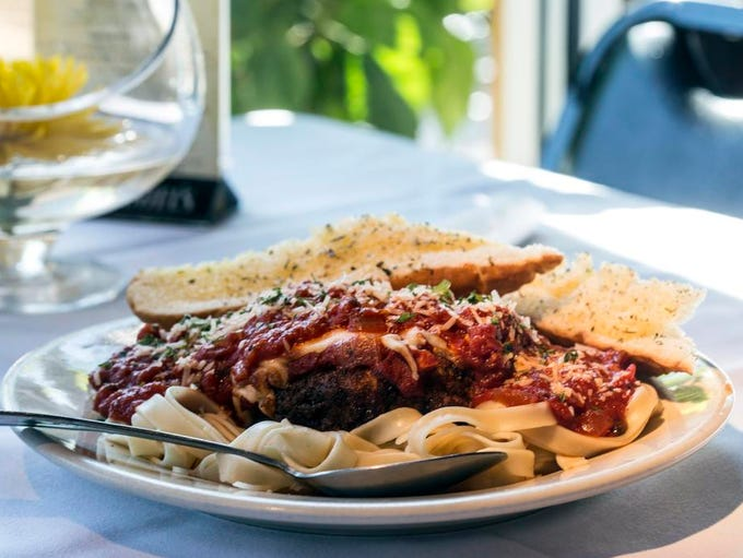 The Chicken Parmesan is always a go-to item when dining Italian. 9/25/14