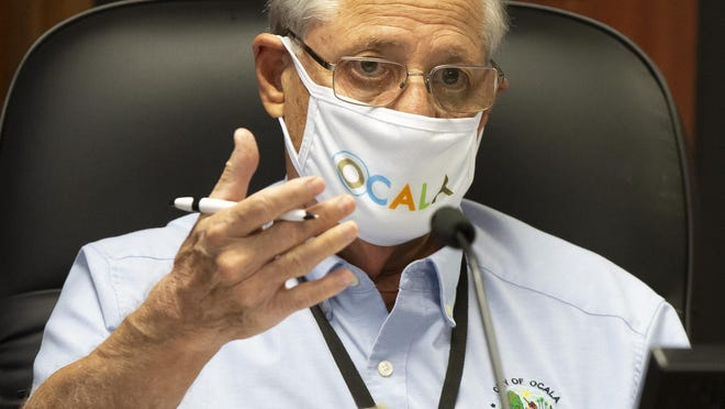 """Ocala City Councilman Brent Malever has seen friends get sick over COVID-19 and voted in favor of the face mask ordinance. """"I'm not a scientist but I think we need to be proactive."""" The Ocala City Council voted 4-1 to mandate a face mask ordinance for the City of Ocala Tuesday night."""
