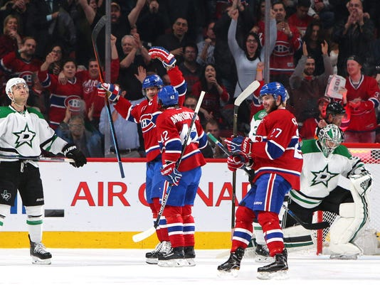 USP NHL: DALLAS STARS AT MONTREAL CANADIENS S HKN CAN QU