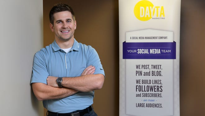 Luke Riordan is CEO and founder of DAYTA Marketing, a social media marketing firm he started, that he has grown into a larger space in Waite Park.