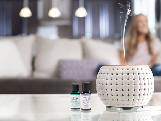 Aromatherapy products, including diffusers, can help you relax, plus many include sights and sounds, too.