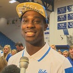 Plano West basketball and football star Soso Jamabo was arrested in Kaufman County on April 19