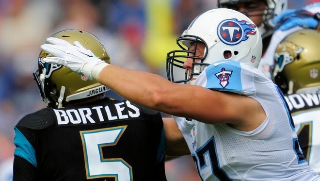 Defensive end Karl Klug has been a valuable and versatile player for the Titans over the past four seasons.