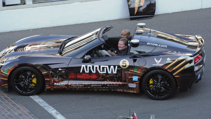 Sam Schmidt returned to driving a car in 2014 at Indianapolis Motor Speedway. The quadriplegic controlled it with head movement and mouth sensors.