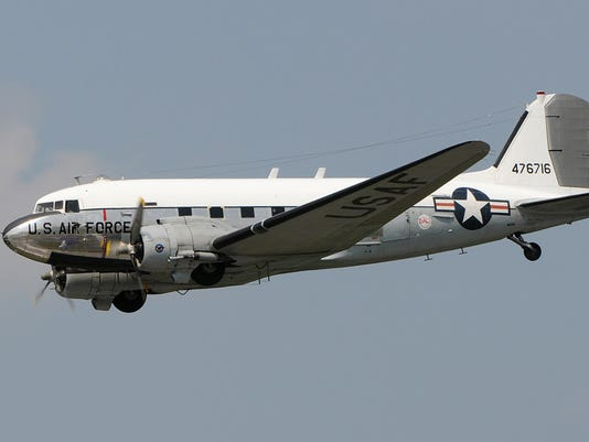 C-47 open for tours at Liberty Aviation Museum