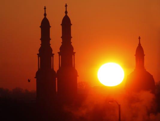 Covington sunrise