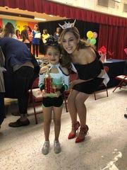 Miss El Paso 2018 Andrea Chacon at a Beall Elementary