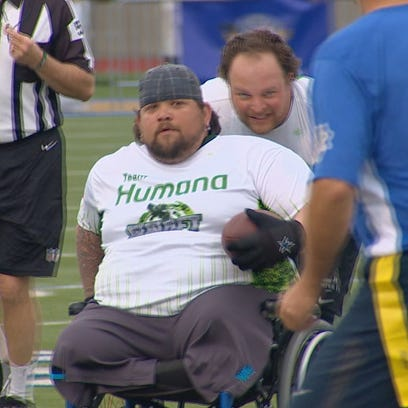 Wounded Warriors take on Cowboys legends