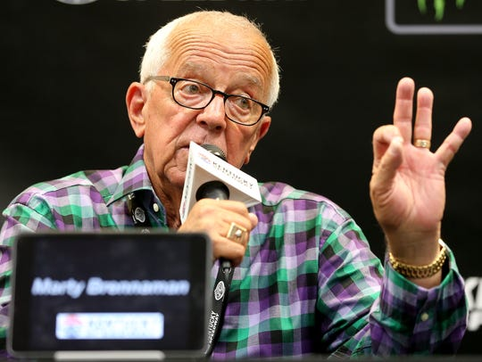 Reds Hall of Fame announcer Marty Brennaman answers