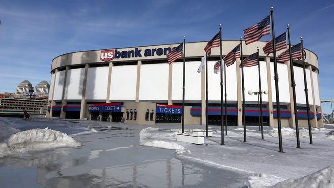 U.S. Bank Arena. Photo shot Tuesday February 18, 2014.
