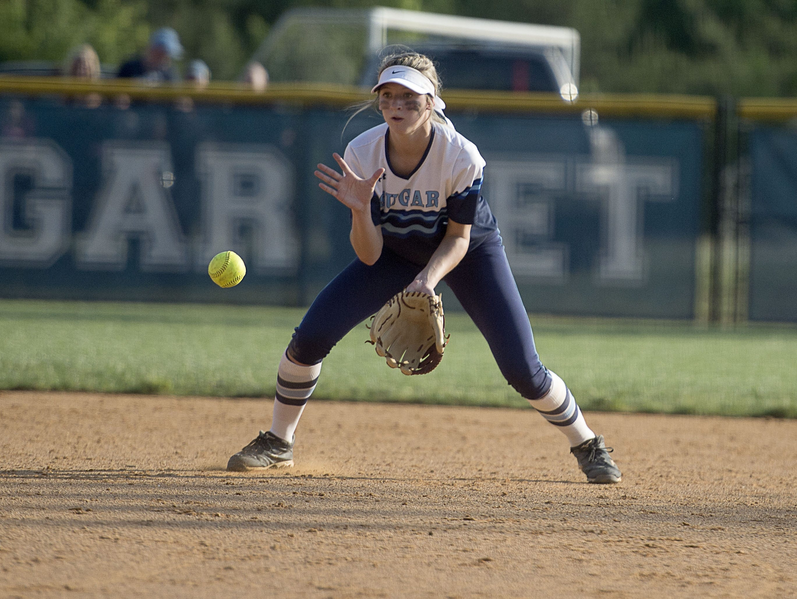 Enka sophomore second baseman Kloyee Anderson is the Mountain Athletic Conference Player of the Year for softball.