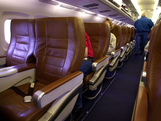 All business-class seating was a feature that set Midwest