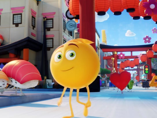 This image released by Sony Pictures shows Gene, voiced